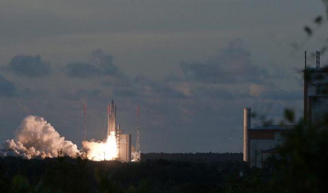 Neuer Satellit soll aus dem All vor Unwetter warnen (Foto)