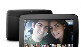 Neues Betriebssystem, aber kein mobiler Datenfunk: Googles Nexus 10. (Foto)