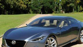 Neues Mazda-Design:Scharfkantig und kraftvoll. (Foto)