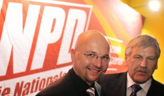 Neues NPD-Verbotsverfahren? Innenminister uneins (Foto)