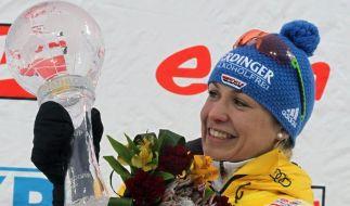 Neuner beendet fröhlich die Biathlon-Karriere (Foto)