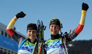 Neuner holt zweites Biathlon-Gold - Hauswald 3. (Foto)