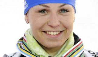 Neuner traeumt von WM-Gold und deutscher Hymne in Ruhpolding (Foto)