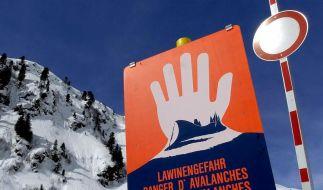 Neuschnee in den Alpen: Erhebliche Lawinengefahr (Foto)