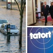 """Wirbel um Donald Trump Trennung // ARD stoppt """"Tatort"""" // Tote durch Orkan """"Herwart"""" (Foto)"""