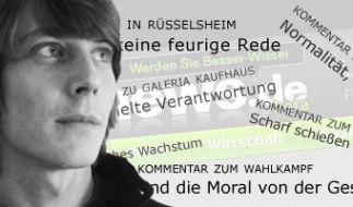 News.de-Mitarbeiter Nikolaus Klamroth (Foto)