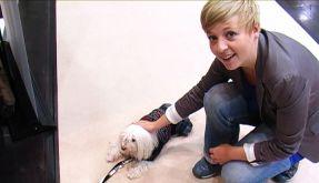 News.de-Redakteurin Ines Weißbach ist auf den Hund gekommen (Foto)