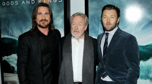 Christian Bale und Ridley Scott