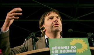 Nicht links, nicht rechts, sondern vorne: grüner Öko-Bauer Sepp Daxenberger. (Foto)