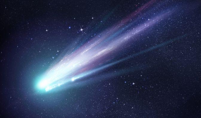 Nicht oft fliegen Kometen so nah an der Erde vorbei (Symbolbild). (Foto)