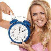 Nicht vergessen: Winterzeit bedeutet, die Uhr von 3 Uhr auf 2 Uhr zurückzustellen.