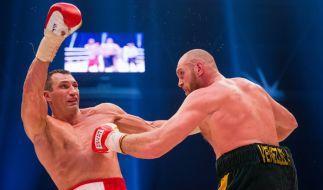Nicht einmal zwei Wochen lang war Tyson Fury IBF-Weltmeister. (Foto)