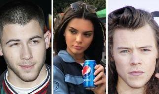 Nick Jonas, Kendall Jenner und Harry Styles hatten es in dieser Woche nicht leicht. (Foto)