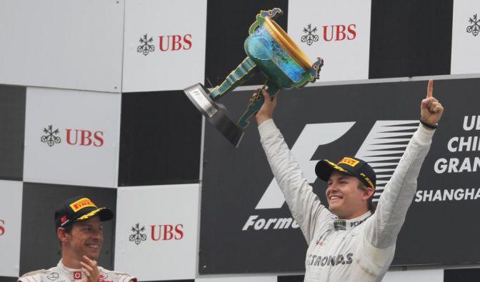 Nico Rosberg siegt beim Großen Preis von China (Foto)