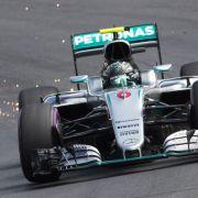 Nico Rosberg bricht Schumi-Streckenrekord beim Training in Österreich (Foto)
