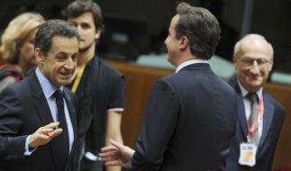 Nicolas Sarkozy, David Cameron (Foto)