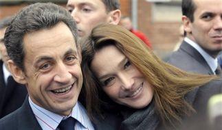Nicolas Sarkozy und Carla Bruni (Foto)