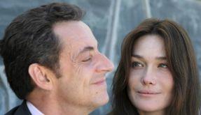 Nicolas Sarkozy und seine Frau Carla Bruni (Foto)