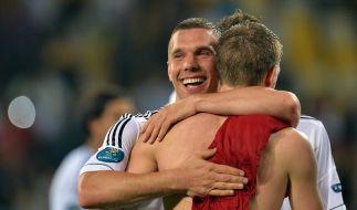 Nie wieder Bilder von Poldi und Schweini ... Das werden wir sehr vermissen! (Foto)