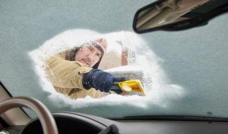Nie mehr kratzen: Eine Standheizung erspart einem das mühevolle Hantieren an vereisten oder zugeschneiten Autoscheiben. (Foto)