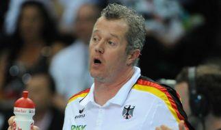 Niederlage für Volleyballer - 1:3 gegen Bulgarien (Foto)