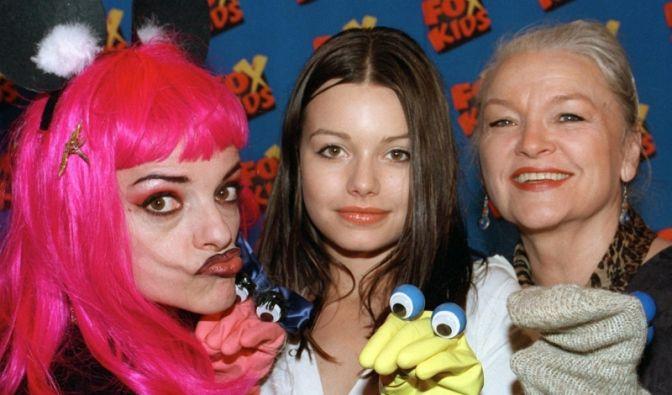 Nina, Cosma und Eva-Maria Hagen (Foto)
