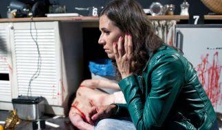 Nina Kunzendorf ermittelt in ihrem dritten Fall als Tatort-Kommissarin Conny Mey. (Foto)