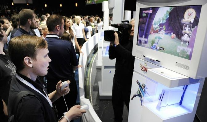 Nintendo stellt neuen Spielekontroller vor (Foto)