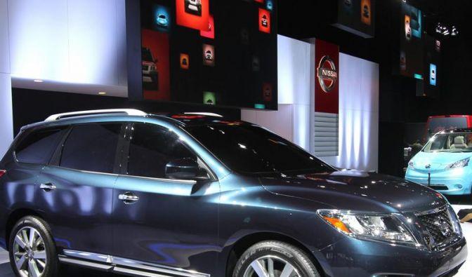 Nissan: Neuer Pathfinder und E-Transporter (Foto)