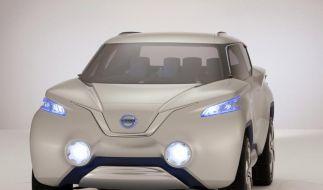 Nissan Terra: Kleine SUV-Studie mit Brennstoffzelle (Foto)
