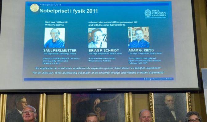 Nobelpreisträger sagen Zukunft des Universums voraus (Foto)