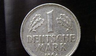 Noch immer 13,45 Milliarden D-Mark im Umlauf (Foto)
