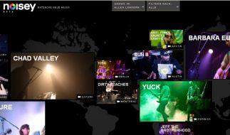 Noisey Startseite (Foto)