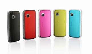Nokia bringt Farbe in den Markt mit Touchscreen-Handys. (Foto)