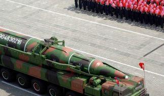 Nordkorea droht mit Atomschlag gegen die USA (Foto)