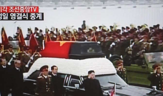 Nordkorea nimmt Abschied von Kim Jong Il (Foto)