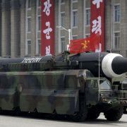 Erneuter Raketenabschuss - Japan ruft die USA um Hilfe (Foto)
