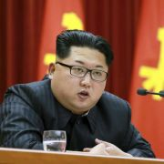 Nordkoreas Dikator Kim Jong-un. (Foto)