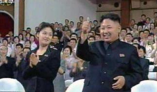Nordkoreas Kim Jong Un festigt seine Machtposition (Foto)