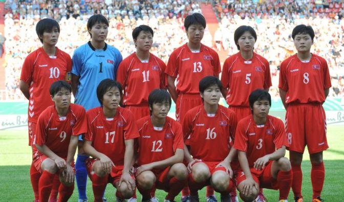Nordkoreas Team für die WM 2011 (Foto)