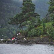 Auf der norwegischen Insel Utøya wurden bei einem Amoklauf mindestens 84 Jugendliche erschossen.