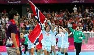 Norwegens Handballerinnen wieder Olympiasieger (Foto)