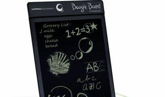 Notizen, Skizzen, Zeichnungen - auf dem Boogie Board, dem Notizbuch 2.0, findet alles seinen Platz. (Foto)
