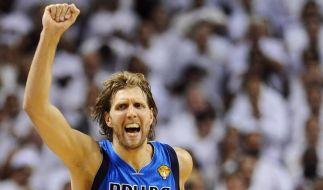 Nowitzki holt NBA-Titel (Foto)