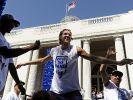 Nowitzkis feiert in Dallas (Foto)