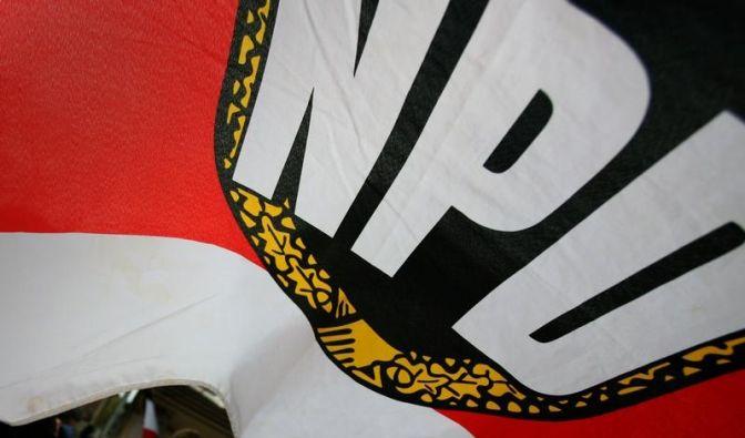npd fahne (Foto)