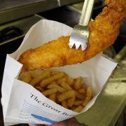 Nur, wenn Fisch dazu kommt, dürfen bei Olympia in London Pommes verkauft werden.