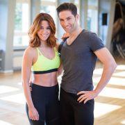 """Nur bei """"Let's Dance"""" ein Paar: Profi-Tänzer Christian Polanc und Schlager-Star Vanessa Mai. (Foto)"""