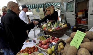 Nur wenige Deutsche kaufen umweltbewusst ein (Foto)