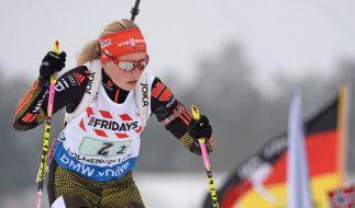 Ob auch Franziska Hildebrand beim Sprint mit vorn mitmischen kann? (Foto)